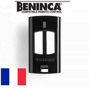 BENINCA TO GO 2 WV - Télécommande portail / garage 2 canaux 433,92 MHz