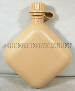 US Military 2 Quart QT Collapsible CANTEEN ARMY TAN BPA FREE MADE IN USA NEW