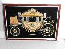 Vintage Carroza Ducal Metal Art Frame Buggy Wagon Antique Made in Spain - Rare