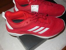 ADIDAS BASEBALL MENS  SPEED TRAINER 4.0  (CG5136)  SIZE  US 12 RED