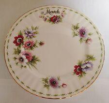 Royal Albert flor del mes de marzo plato de ensalada - 2nd Calidad