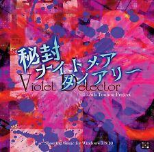 New Doujin PC Game Touhou Hifuu Nightmare Diary Violet Detector. Shmups/Shooters