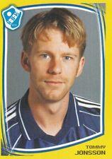 071 tommy jonsson # sweden halmstads bk. 2000 sticker fotboll allsvenskan