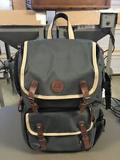GOgroove Digital Camera Backpack Gray w/Tablet & Accessory Compartments