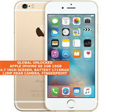 APPLE IPHONE 6S 2gb 16gb Unlocked 12mp Camera Face Detection Ios 4g Smartphone