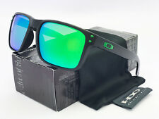 Sunglasses Polarized Holbrook@⁸Oakley@⁸Matte Black/Green Mercury Iridium #