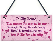Keepsake Gift For Best Friend Friendship Birthday Gift Plaque Thank You Gifts