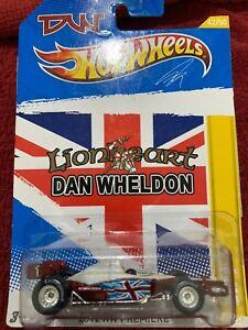 Hot Wheels Dan Wheldon With Real Riders