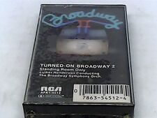 Turned On Broadway 2- Standing Room Only- Luther Henderson- Cassette - SEALED