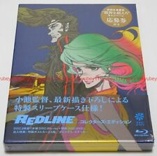 REDLINE Collector's Edition Blu-ray Post Card Sticker Japan English Subtitles
