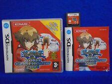 ds YU GI OH! WORLD CHAMPIONSHIP 2008 Battle Game Konami Yu-Gi-Oh PAL UK Version