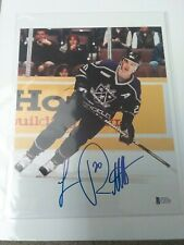 Luc Robitaille Signed 8 X 10 Beckett HOF Kings Penguins