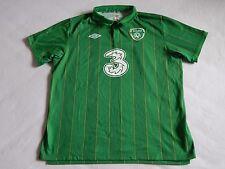 """REPUBBLICA d'Irlanda EURO 2012 Calcio Casa Maglietta, uomo XXL, 48"""""""