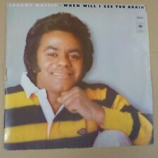 vinyl LP JOHNNY MATHIS when will i see you again, 1975,  cbs 80738