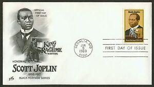 #2044 20c Scott Joplin, Art Craft FDC ANY 4=