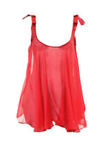 Agent Provocateur Women's Birthday Suit Babydoll Size L Red RRP £315 BCF83