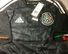 Mexico National Soccer Home Jersey adidas 2019 Authentic Black - Extra Small XS