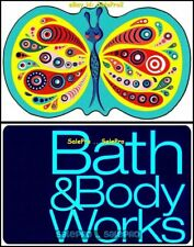 2x TARGET BUTTERFLY BATH & BODYWORKS RELAX & EXCERCISE COLLECTIBLE GIFT CARD LOT