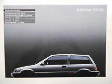 Catalogue HONDA CIVIC