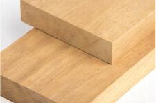 Iroko Wood timber African Teak 130mm x 35mm thick chunky