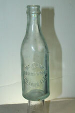 DELAND FLA BOTTLING WORKS SODA BOTTLE VARIATION  #2