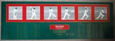 KEITH MILLER BATTING PERSONALLY SIGNED FRAME BY FRAME LIMITED EDITION PRINT-COA