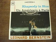 LEONARD BERNSTEIN Rhapsody in blue- Un Américain à Paris- GERSHWIN- LP