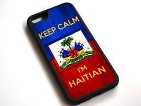 For iPhone XS Max Keep Calm, I'm Haitian Haiti Flag Case Cover #10091
