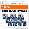 Osram Cool Blue Intense Bulbs 4200K Xenon Look All Types H1 H3 H4 H7 H8 H11 HB3