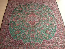 Persian Tapestry Art Silk Termeh Paisley Rug Tablecloth Wall Hanging Decorative