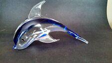 Oggetti Italy Glass Dolphin