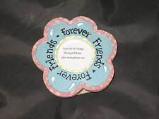 Decorative Refrigerator Magnet Flower Friends Forever Religious NEW!