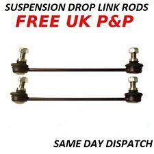Peugeot Citroen FRONT Anti-roll Bar Link Stabiliser Drop Links Rods Sway Bar x 2