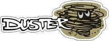 """Vintage Plymouth Duster sticker decal 5""""x1.9"""""""