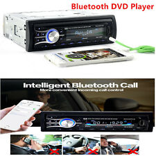 Bluetooth In-Dash 1 Din Car Auto SUV DVD CD Player Vehicle MP3 Stereo Radio AUX