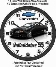 2004 CHEVROLET MONTE CARLO INTIMIDATOR SS WALL CLOCK