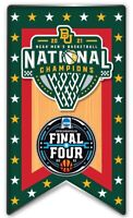 "FINAL FOUR BAYLOR BEARS CHAMPIONS ""BANNER"" PIN 2021 MARCH MADNESS BASKETBALL"