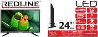 REDLINE  24-inch FHD IPS LED Monitor Ultra Sharp 16:9 HDMI VGA