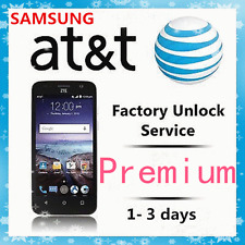 AT&T USA Samsung Galaxy  S8 Active S7 Edge S6 Gear S Tab Premium Unlock Code