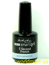 Artistic Nail Design Smart Builder Gel System : #02017- 5 Second French 0.5oz