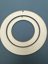 3mm MDF Small Wooden Wreath