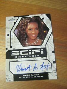 Leaf Pop Century 2011 - Sci-Fi Signatures #SF VAF Vivica A. Fox #'d to 10    ZN0