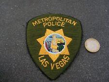 PATCH POLICE ECUSSON COLLECTION  USA   police las vegas