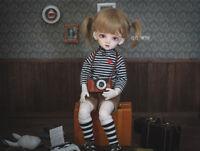 QQ-56C Cappuccino/Light Brown BJD Doll Mohair Wig {Dolly Planet} 1/8;1/6 ;1/4 ;