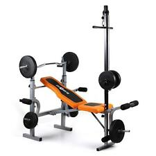 PRO WORKOUT MULTI GYM WEIGHT BENCH PRESS HOME GYM EQUIPMENT * FREE P&P UK DEAL *