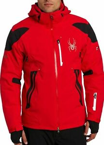 Spyder Leader Mens Ski Snowboard Jacket Insulated Winter Snow Coat 20K RRP£450