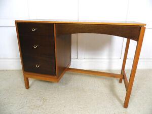 VINTAGE RETRO MIDCENTURY STAG John Sylvia Reid 1960s desk dressing table WALNUT