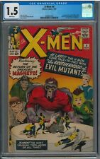 X-Men #4 CGC 1.5 (1964) First Scarlet Witch and Quicksilver! Key Issue!!