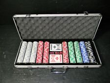 500 COUNT THE LADIES OF LAS VEGAS COMMEMORATIVE SPECIAL EDITION POKER SET CASED