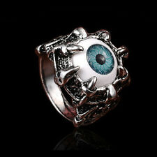 Punk Gothic Band Ring Stainless Steel Wolf Head Animals Glamour Finger Ring